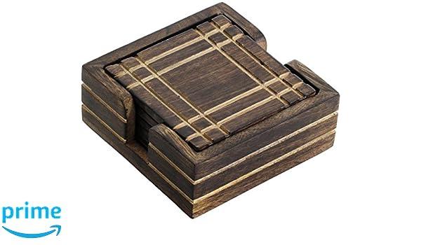 Souvnear bois rétro sous verres fait à la main caboteurs de bois
