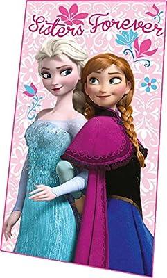 Disney - Frozen. WD07219. Manta polar rosa por Disney Home Spain