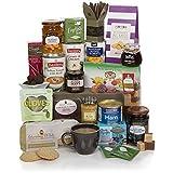 Luxuriöser Lebensmittel-Geschenkkorb - Traditionelle Gourmet-Geschenkkörbe - Geschenke für Ihn oder Sie