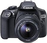 Canon EOS 1300D Digitale Spiegelreflexkamera (18 Megapixel, 7,6 cm (3 Zoll), APS-C CMOS-Sensor, WLAN mit NFC, Full-HD ) Kit inkl. EF-S 18-55 mm und EF 50 mm STM Objektiv schwarz - 3