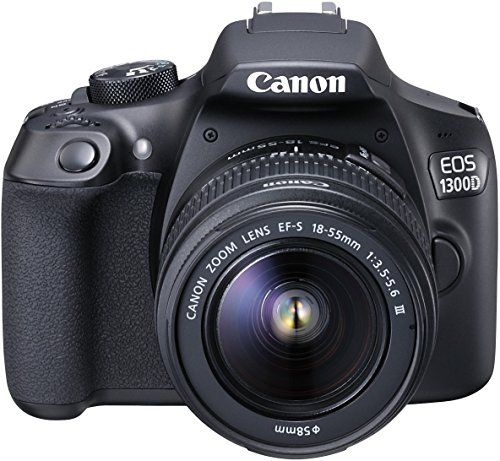 Canon EOS 1300D Digitale Spiegelreflexkamera (18 Megapixel - 3