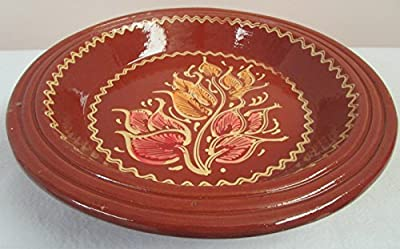Tajine Tagine Cous Cous Plate couscousiera Soup Tureen Hand Painted Terracotta Morocco Diameter 42 by Artigianato Marocco
