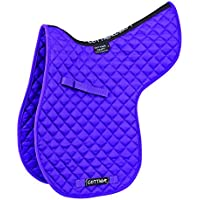 Cottage Craft Classic High Wither GP - Sudadero numnah para caballo, color morado, talla Cob