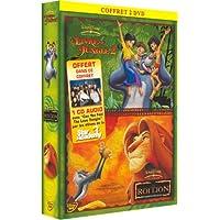 Le Roi Lion / Le Livre de la Jungle 2 - Bipack 2 DVD