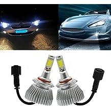 Ralbay LED Car Headlight Bulbs Conversion Kit -HB3(9005), 32W 2200LM 6000K Cool White, 1 Yr Warranty