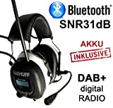 DAB+ Digital Radio Gehörschutz BLUETOOTH Kopfhörer Gehörschützer