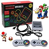 Nintendo Classic Mini-Konsole: Super Nintendo Entertainment-System2018 TV-Video-Spiele-Konsole, SMART HDMI CLASSIC IN 621 SPIELE 2 CONTROLLER BUILT