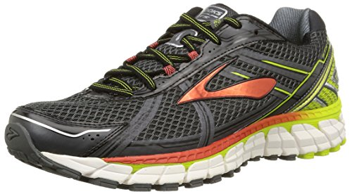 Brooks Adrenaline Gts 15 -  para hombre, anthracite/lime punch/orange, talla 43