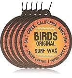 Ambientador para Coche con Fragancia de la Isla de Coco de Bird 's Original Californian Surf Wax