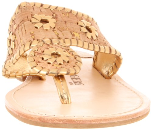 Jack Rogers - Napa Valley, Sandali Donna Multicolore (CORCK GOLD)