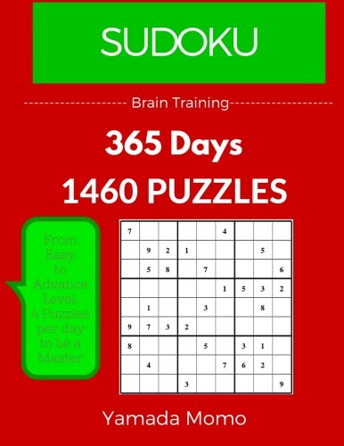 Sudoku: Brain Training 365 Days: 365 Days 1,460 Puzzle (Play it, Feel it Everyday): Volume 6