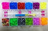 #4: Rainbow Loom Band Kit toy, More than 2500 Bands Best toy Gift Birthday Gift for Girls