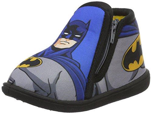 Batman Bat Billien, Chaussons Mules Garçon, Gris, 22 EU