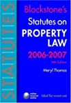 Blackstone's Statutes on Property Law...