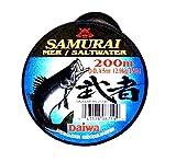 #1: Daiwa Samurai Mer/Saltwater 200 Mtr 0.50mm (17.5Kg/30Lbs)