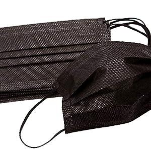 HugeStore 50 Stk Einweg Mundschutz OP Maske Mundschutzmaske Masken mit Elastikbändern