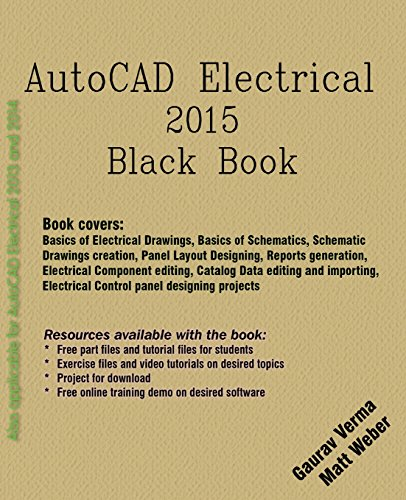 AutoCAD Electrical 2015 Black Book