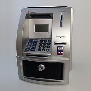 M&B Hucha Cajero Automático plata de Banco