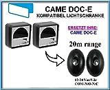 Came DOC-E kompatibel lichtschranke, paare von äußere universale Fotozellen / Infrarot IR Sicherheit Sensor 12 -24 Vac/Vdc, NO/NC. Reichweite: bis 20m!!!
