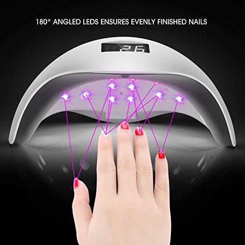 UV LED Nagellampe – Nageltrockner mit 4 Zeiteinstellungen - 6