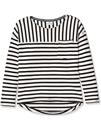Tom Tailor Striped with Neps, Sweat-Shirt Fille