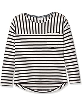 Tom Tailor Kids Striped Sweater with Neps, Sudadera para Niñas