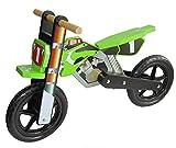 Dunjo® Holz Motorrad Laufrad Cross Pro