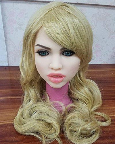 Preisvergleich Produktbild Langes Haar Austauschbare Liebesspielwarenperücken Engel Puppenperücke für Cosplay (Lange,  Blond)