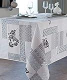 Veracruz–Tischdecke, schmutzabweisend, rechteckig. 140x 240cm, Palace. 150x 200cm 100% Polyester Waschen separatem 30° und bügelfrei möglich. Dekoration, Rect. 150x200