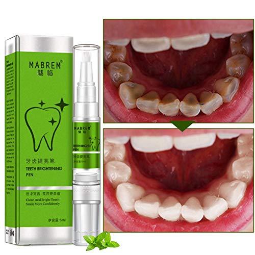 BOBORA Magic Teeth Whitening Pen Entfernen von gelben Zähnen Zahnreinigungsstift Wirksam, schmerzlos, ohne Empfindlichkeit, reisefreundlich, einfach zu bedienen, schönes weißes Lächeln