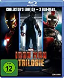 Iron Man Trilogie-Collector's Edition (Blu-Ray)- (Audio:Anglais/Allemand) [Import anglais]