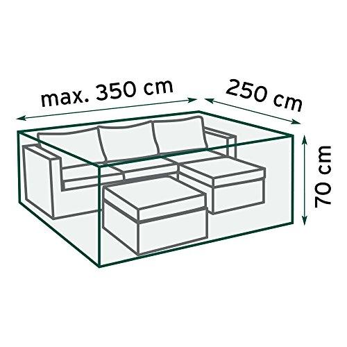 TrendLine Schutzhülle für Lounge-Sets Gartenmöbelhaube Abdeckhaube