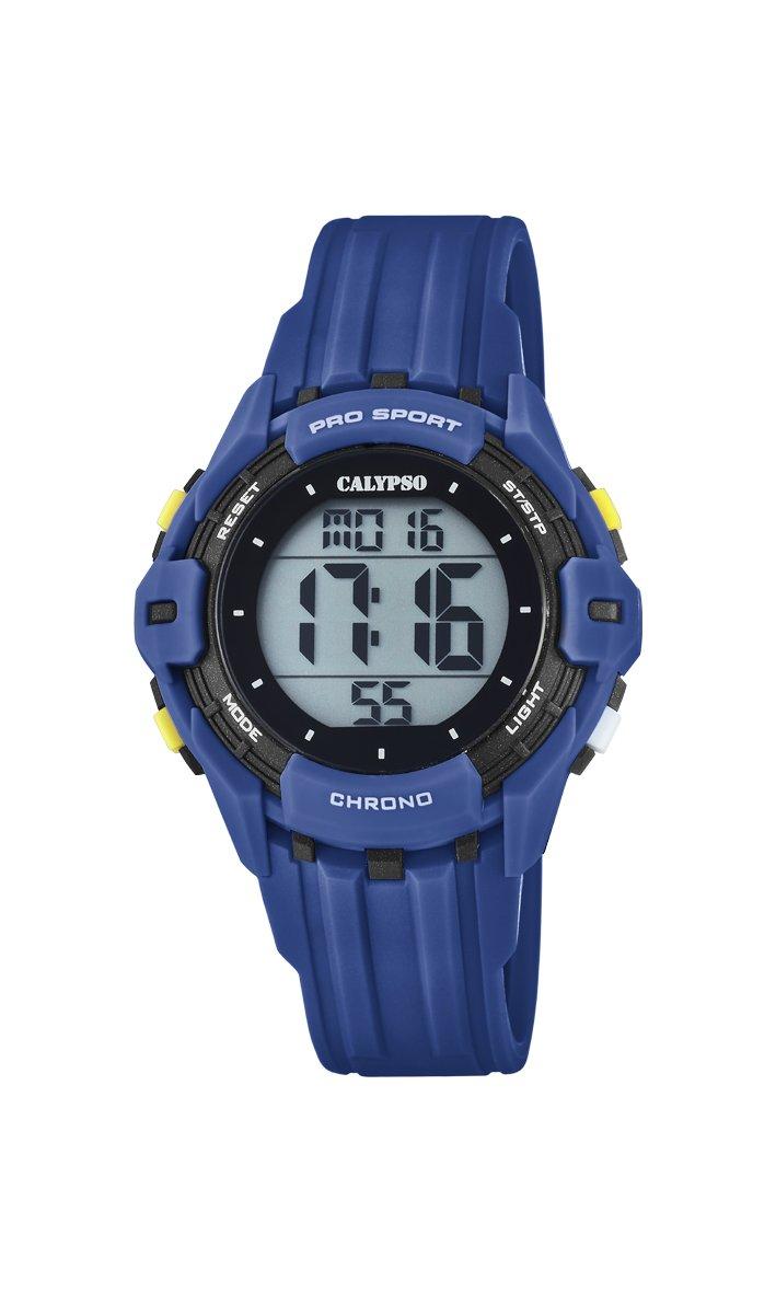 Calypso Reloj Digital para Hombre de Cuarzo con Correa en Plástico K5740/4