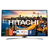 "Hitachi 49HL15W69 49"" 4K Ultra HD Smart TV Wi-Fi Chrome LED TV - LED TVs (124.5 cm (49""), 3840 x 2160 pixels, LED, Smart TV, Wi-Fi, Chrome)"