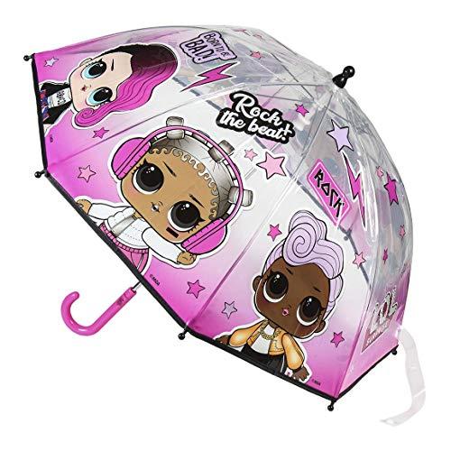 Cerdá Paraguas Manual Burbuja LOL Rosa 01