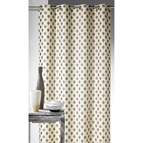 HomeMaison.com HM69851494 - Cortina, 140 x 260 cm, color beige