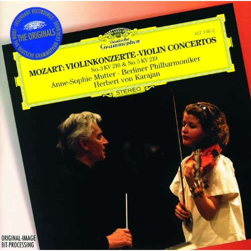 Mozart: Violin Concerto Nos.3 K.216 & 5 K.219