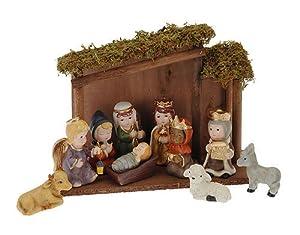 Belén de Navidad completo Santa