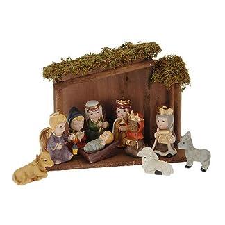 Belén de Navidad completo Santa Eugenia