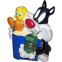 Preisvergleich für Looney Tunes Spardose aus Kunststoff (Coin Bank) Sylvester & Tweety