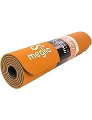 Esterilla de Yoga Meglio ECO en TPE - Antideslizante - Perfecta para Yoga, Pilates, Fitness, Rutinas de Ejercicios y Meditación - 8mm de Grosor