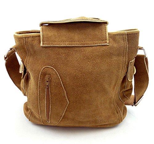 Trachtentasche Dirndltasche Lederhosen-Tasche Umhängetasche Leder Braun - Bild 4