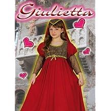 Costume Giulietta 7-9 Anni