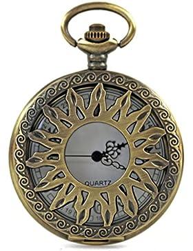 Taschenuhr Uhr Herren-Uhr Geschenk nostalgisch Urban Damen-Uhr Sonne Künstler