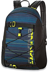 DAKINE Wonder - sacs à dos (Multi, Motif, Polyéthylène téréphthalate (PET), Hommes, Poche latérale, Skateboard)
