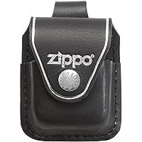 Zippo Ledertasche für Zippo Feuerzeuge Farbe schwarz mit Schlaufe