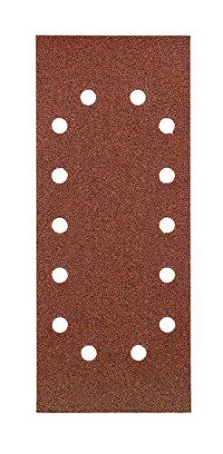 KWB 8187-24 Schleifstreifen, Holz & Metall, 115 x 280 mm, gelocht