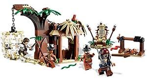 LEGO Pirates des Caraïbes - 4182 - Jeu de Construction - Prisonnier des Cannibales