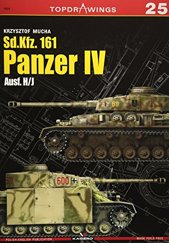 Sd.Kfz. 161 Panzer Iv Ausf. H/J (Top Drawings) por Krzysztof Mucha
