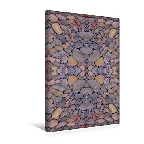Premium Textil-Leinwand 30 cm x 45 cm hoch, Ein Motiv aus dem Kalender Moderne Steinbilder | Wandbild, Bild auf Keilrahmen, Fertigbild auf echter Leinwand, Leinwanddruck (CALVENDO Kunst)